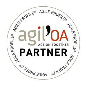 Agile OA Action Together Partner Logo Certification - Kodama